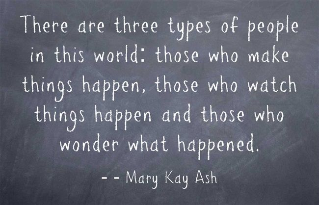3 Quotation: ''There Are Three Types Of People In This World : Those