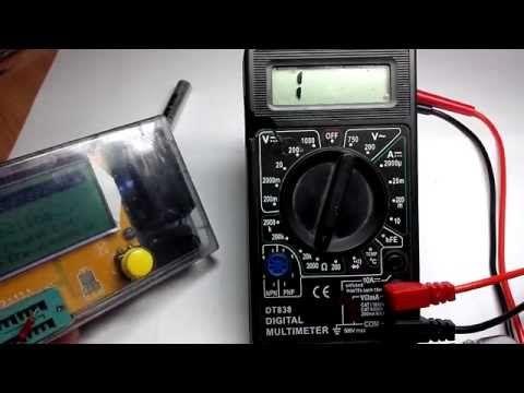 Дешевый цифровой мультиметр (830ая серия) - очень неплох для своей цены. - YouTube