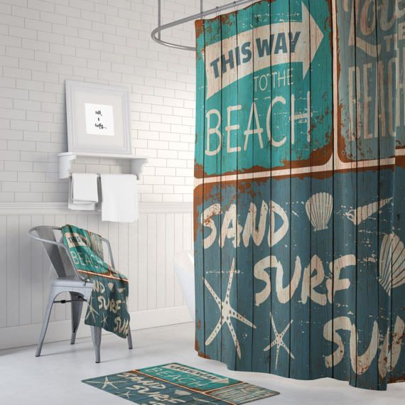 Best 25 Beach Shower Curtains Ideas On Pinterest