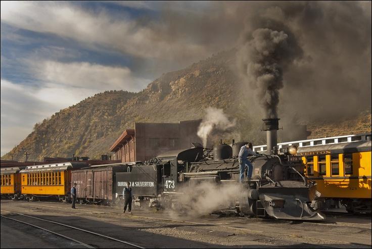 The Durango-Silverton Railroad