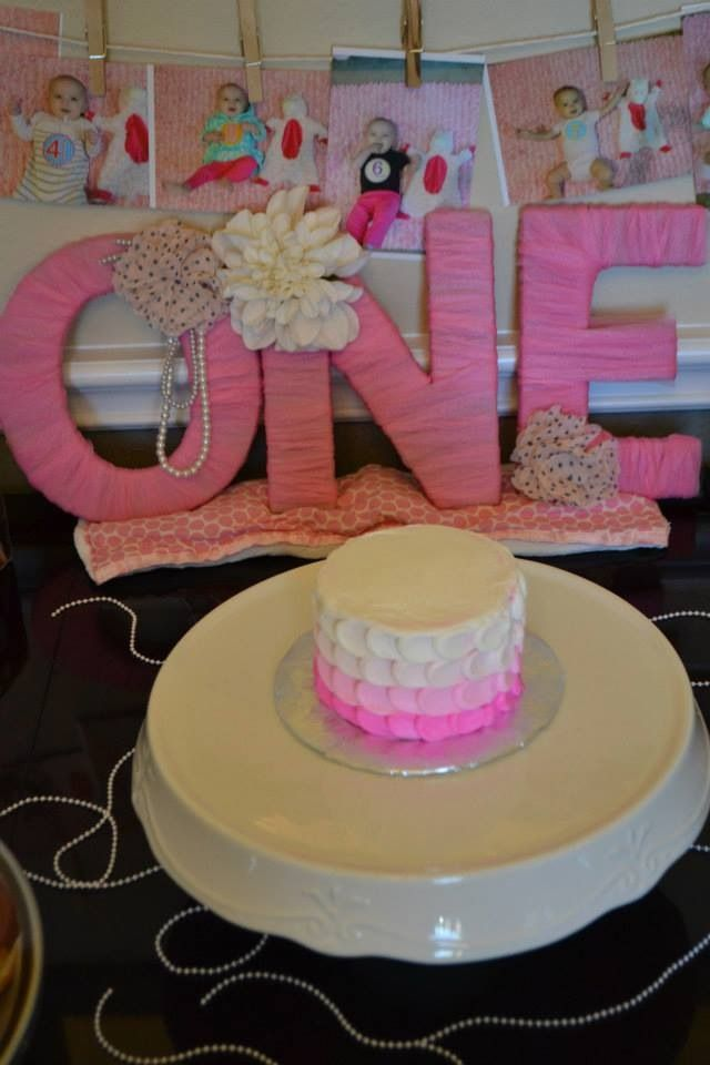 Girls first birthday party