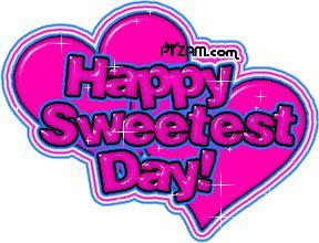 Happy Sweetest Day Glitter Image