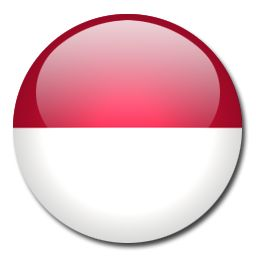 """In Indonesian, this flag is called """"Sang Saka Merah Putih"""" (meaning """"lofty bicolor red and white""""). The red symbolizes human blood (hardiness, bravery, strength & valour) and the white represents the human spirit (peace and honesty). The design of this flag is based on the 13th century Javan Majapahit Empire flag that had nine red and white stripes."""