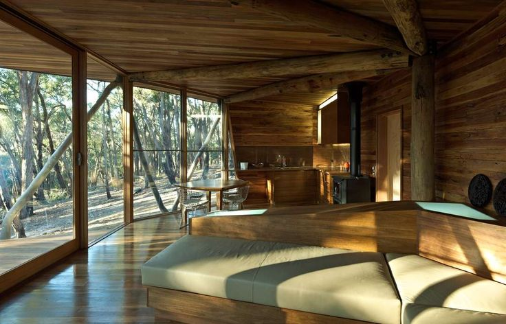 A collection of rural Australian residences - from the bush to beach-side, small cabins to large retreats.