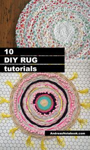 10 DIY rug tutorials (you've got to see these)