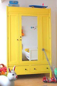 Gele kasten in de kinderkamer 7