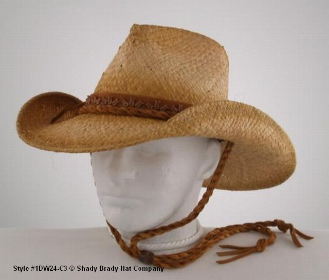 7bc02d5f33aba Shady Brady Crushable Western Collection The ultimate rough duty straw hat  that just loves to be used and abused. Get it wet