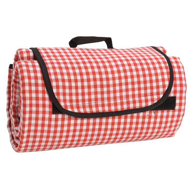 CHECK! Handig picknickdeken