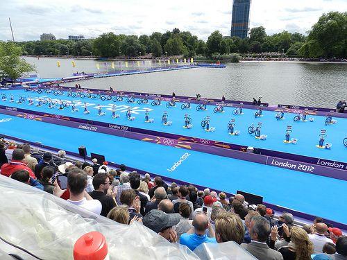 Olympic triathlon - bikes