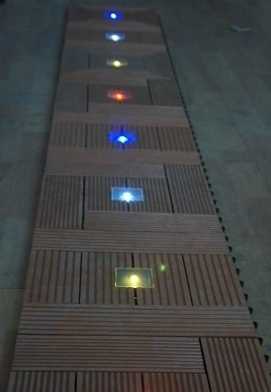 Find This Pin And More On Patio By Lexilady55. Solar Outdoor Floor Tiles  With LED Light