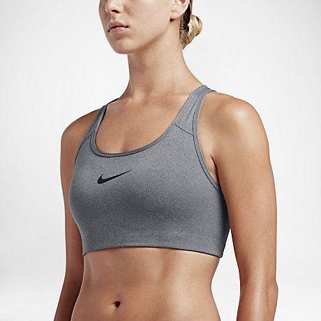 Nike Classic Swoosh Sujetador deportivo de sujeción media - Mujer