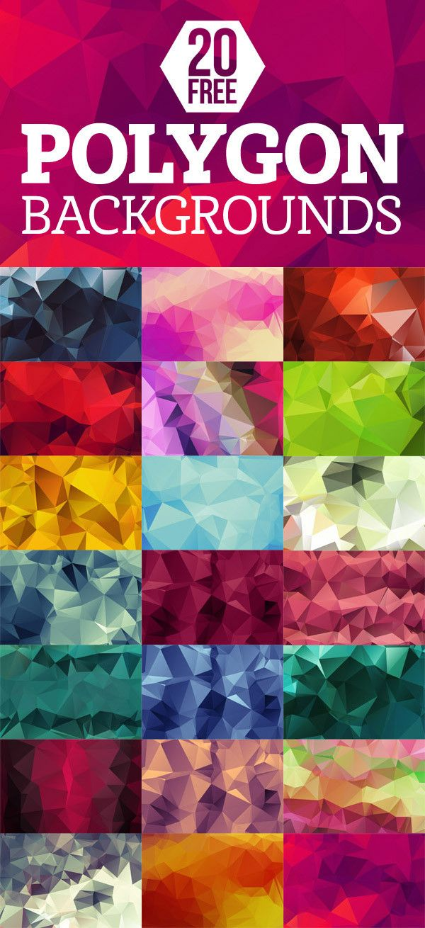 100+ High-Quality Free Polygon Backgrounds