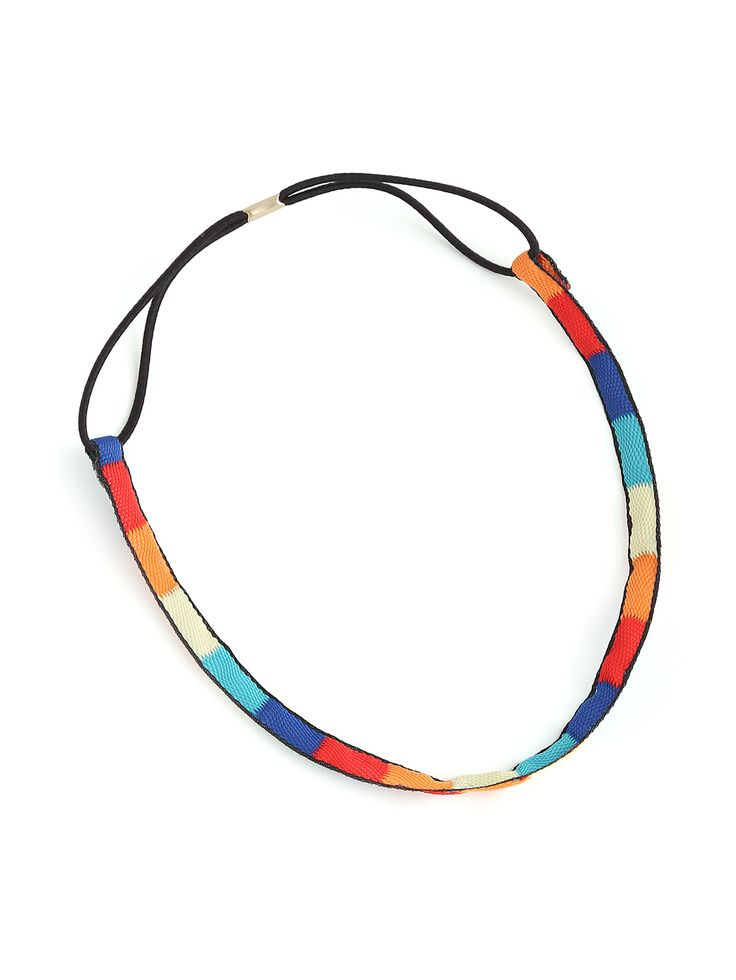 Shop Color Block Hair Band online. SheIn offers Color Block Hair Band & more to fit your fashionable needs.