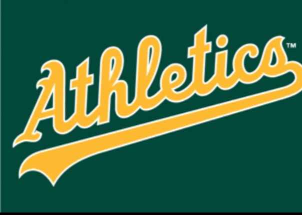 oakland athletics jersey font