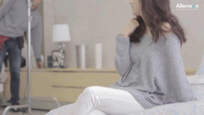 [김태희] 알레르망 광고 메이킹 영상.gif | 인스티즈
