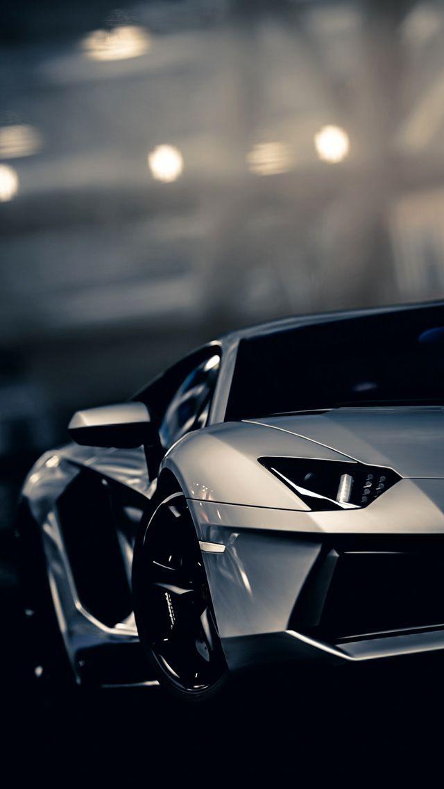 Download Lamborghini Aventador Gran Turismo 5 iPhone 5 Wallpaper