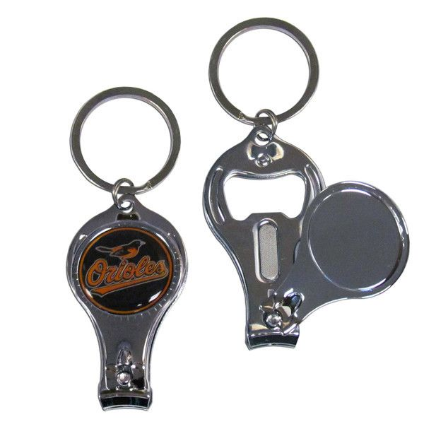 Baltimore Orioles Nail Care/Bottle Opener Key Chain