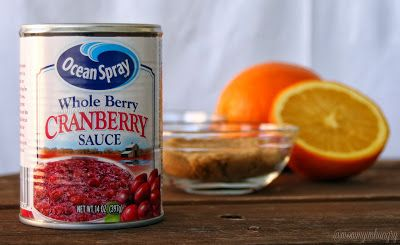 Easily doctor up canned cranberry sauce to make DELICIOUS Cranberry Orange Sauce - my whole family loved it!