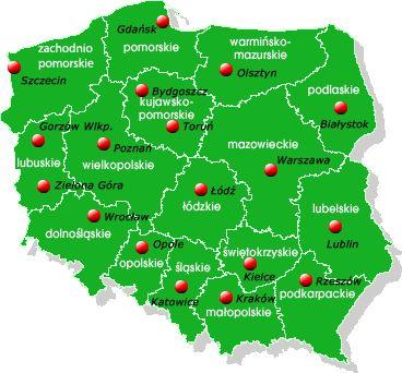 Карты Польских воеводства: 19 тыс изображений найдено в Яндекс.Картинках