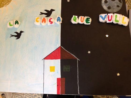 POEMA VISUAL: LA CASA QUE VULL - Material: paper, colors, tisores, cola, altres materials - Nivell: 5PRI CS 2015-16 Escola Pia Balmes
