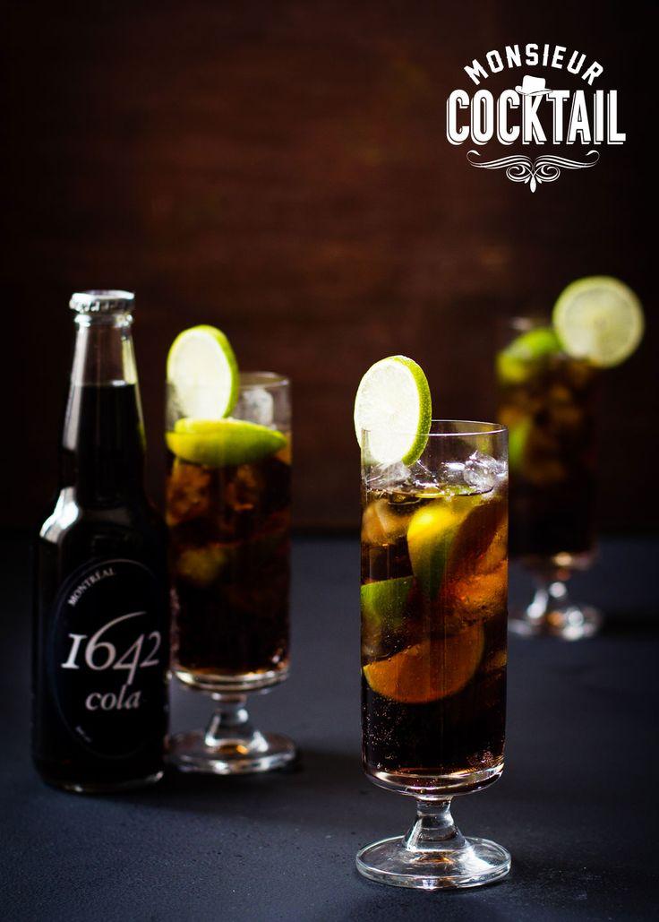Le Cuba Libre avec rhum Havana Club, lime, et cola 1642. Si désaltérant!