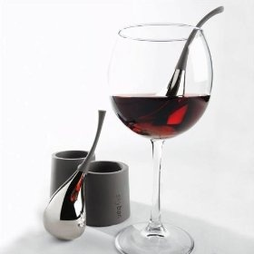 Sky Bar Wine Drops! Great way to Keep your Wine Chilled! www.saleyeti.comRed Wine, Gift Ideas, Single Glasses, Wine Chiller, Skybar Wine, Kitchens Dining, Time Faster, Bottle, Chill Drop