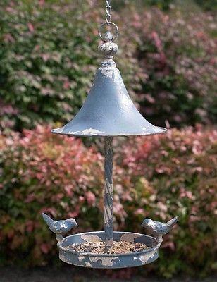 Love-Birds-Vintage-Farmhouse-Roof-Hanging-Bird-Feeder-Metal