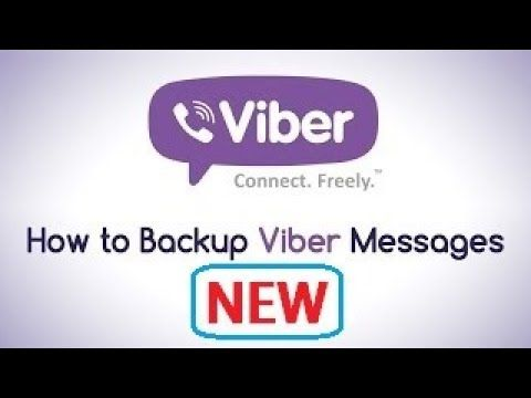Viber Messages on Android  [How to] Backup