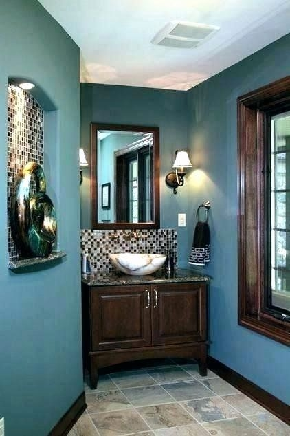 Brown and Teal Bathroom Ideas Beautiful Light Blue and ...