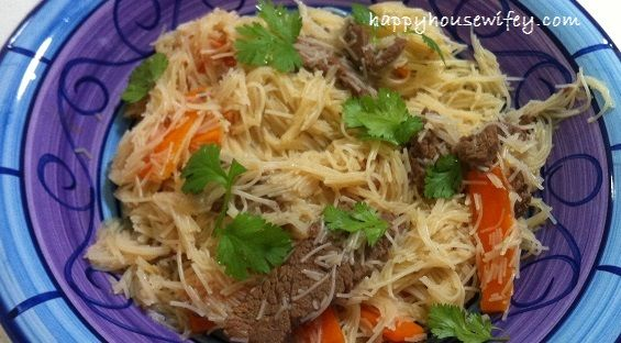 Beef and Rice Vermicelli  #FodMap #LowFodmap #Thermomix