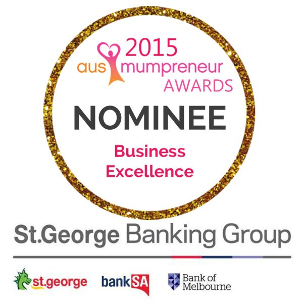 I've been nominated for the 'Business Excellence' award for 2015. Feeling really honoured.