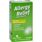 $8.54 - natrabio-allergy-relief-non-drowsy-60-tablets - NatraBio is proud to bring you the next era in symptom relief. Scientifically developed to deliver fast, effective relief in a quick and convenient liquid, NatraBio products are strong enough for the toughest symptoms yet gentle enough for children.