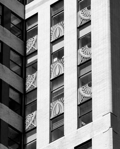 Art Deco Building Details, Chrysler Building, New York by James Maher Photography