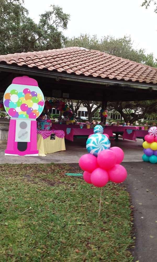 Candyland Birthday Party Ideas Laylas 1st Birthday Birthday