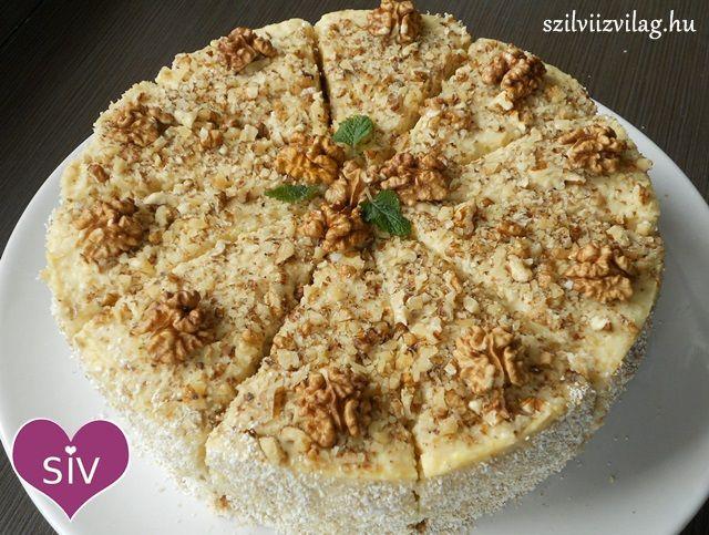 Diótorta - Diétás sütemény