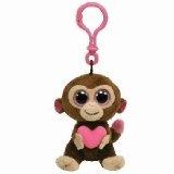 Ty Beanie Boos Casanova Valentins - Affe Schlüsselanhänger 6 cm