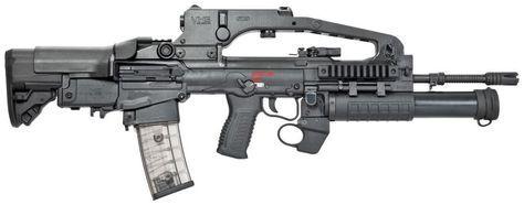 Modern Firearms - VHS D2 K2 / VHS-2 assault rifle (Croatia)