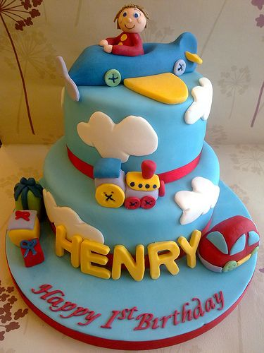 birthday cake designs for boys | When you run out of ideas for your son's birthday cake, you should ...