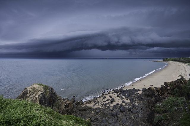 Storm over Mackay