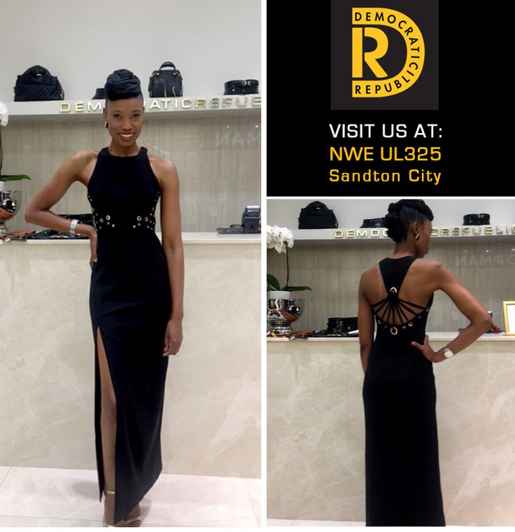 4 days to go... have you found your New Years Eve outfit yet? Visit DemocraticRepublic Sandton City Shopping Centre for a selection of beautiful dresses