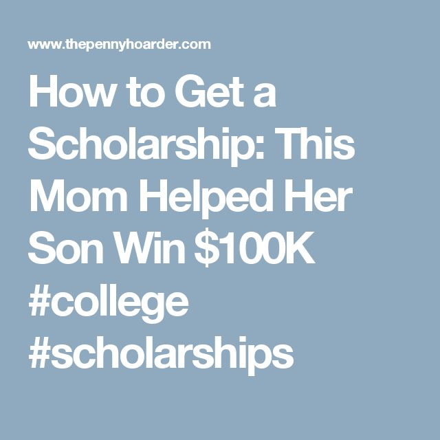 Best College Scholarship VideosPodcasts Images On