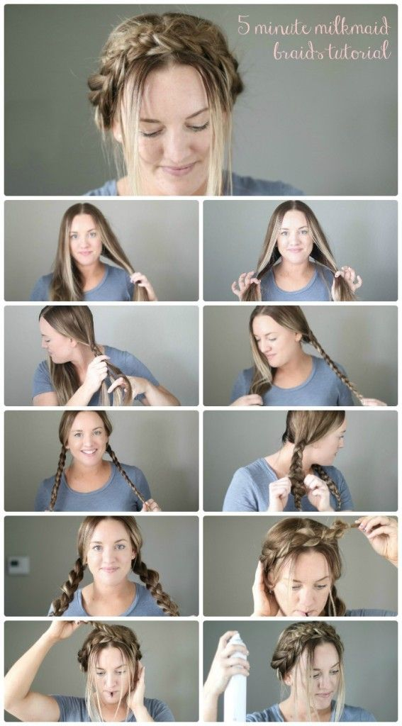 five minute hair tutorial | braid tutorial | hair tutorial | easy braid tutorial…