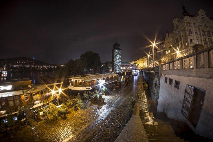 https://flic.kr/p/zLGmvk | Night of the light | Prague (fisheye)
