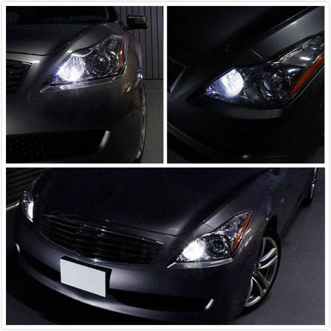 Infiniti G37 With 9 SMD 168 LED Bulbs For Parking Lights