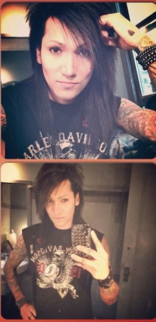 Ashley Purdy hot so hot he's got the tattoo heart on his hand <3 it's so hot and adorable days ashley has a soft part of him right on in his heart^><^!!!!!
