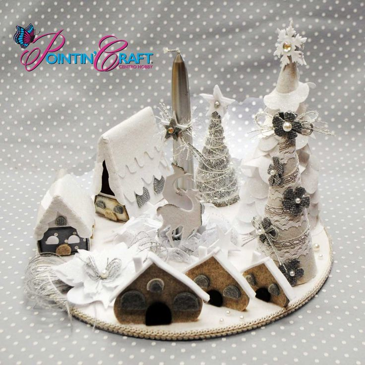 Oltre 25 fantastiche idee su decorazioni di natale in - Centro tavola di natale ...
