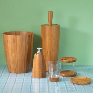 Umbra boomba bath accessories collection bamboo pinterest for Gen y bathroom accessories