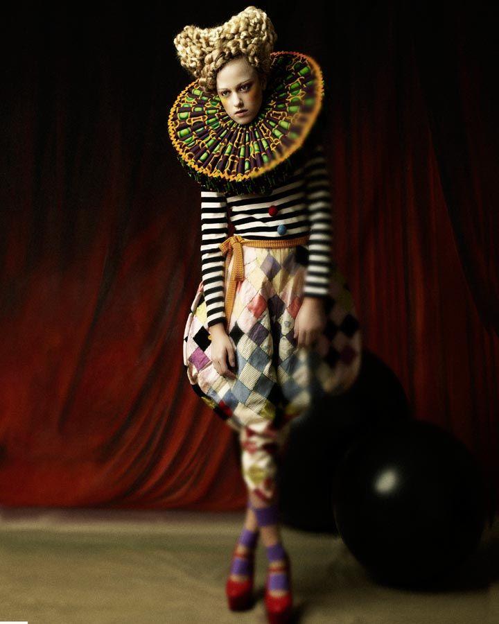 """Dolls"" | Models: Pinar Necati, Photographer: Wolfgang Mustain, Toni & Guy, 2008"