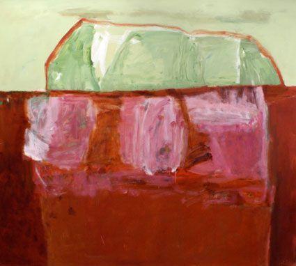 © Jo Bertini ~ Desert Salt Farming ~ 2008 oil on canvas at Tim Olsen Gallery Sydney Australia