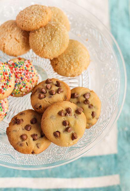 Assorted Condensed Milk Cookies by raspberri cupcakes, via Flickr